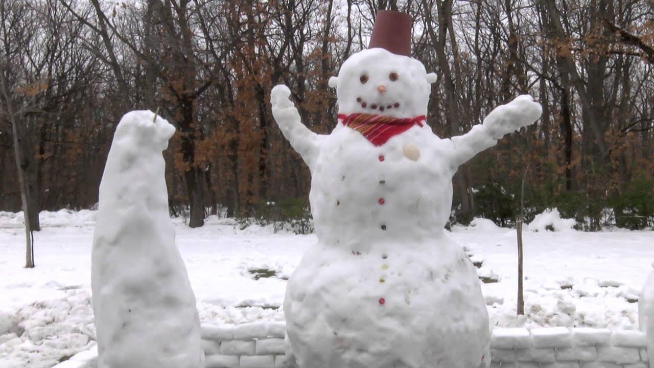 На 18 януари е международният ден на снежния човек