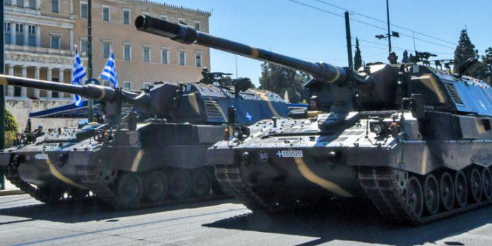 Военен парад за националния празник на Гърция, гости Путин, Макрон, принц Чарлз