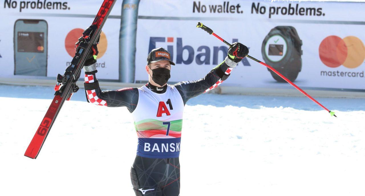 Хърватинът Филип Зубчич спечели гигантския слалом в Банско от Световната купа по ски алпийски дисциплини