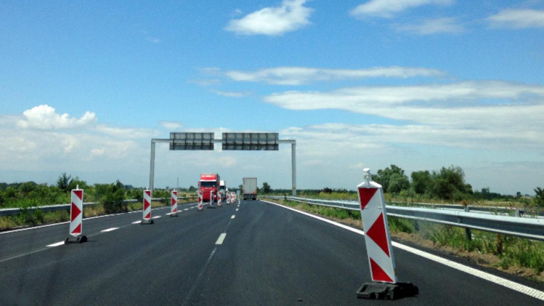 """Затварят за два месеца от днес участък от Автомагистрала """"Тракия"""""""