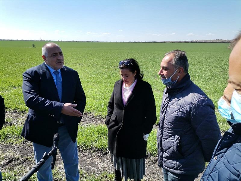 Борисов: С 1,6 млрд. лева подпомагаме земеделските стопани всяка година по директни плащания