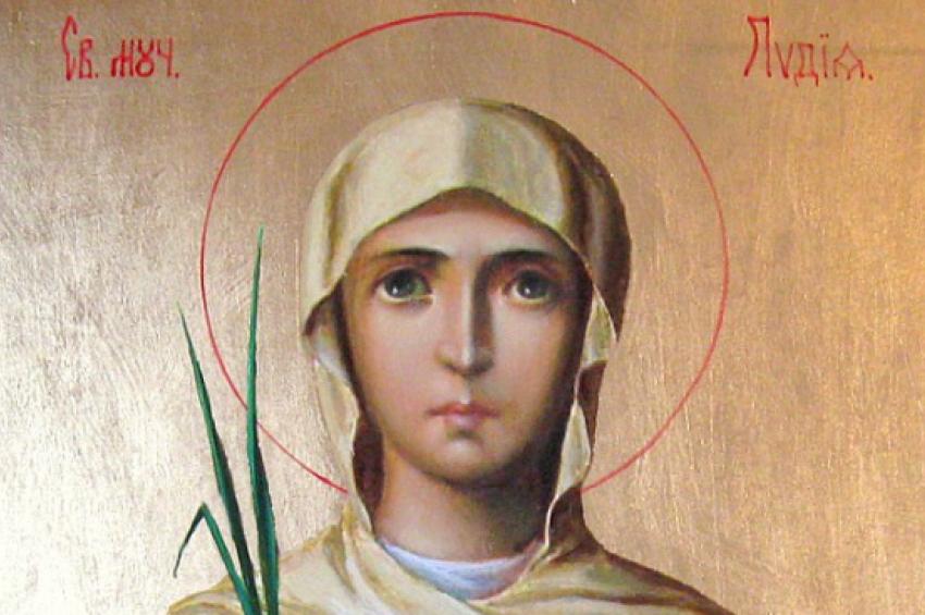 На 23 март Православната църква чества Света мъченица Лидия