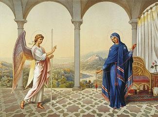 25 Март – Благовещение (Благовец)