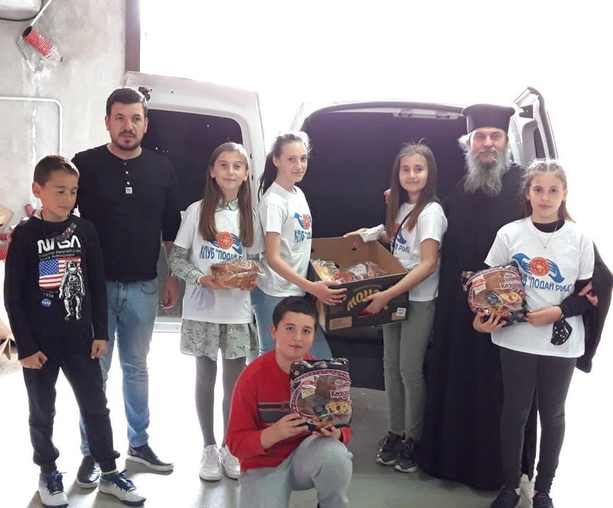 В дните преди Великден, в  Гоце Делчев се проведоха различни благготворителни инициативи в подкрепа на семейства в нужда