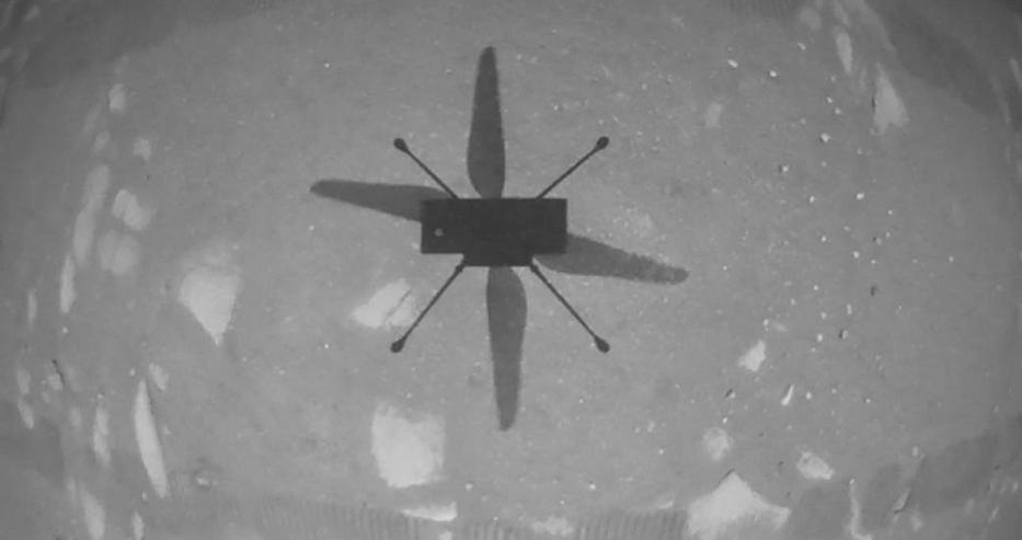 НАСА завърши първия полет на друга планета