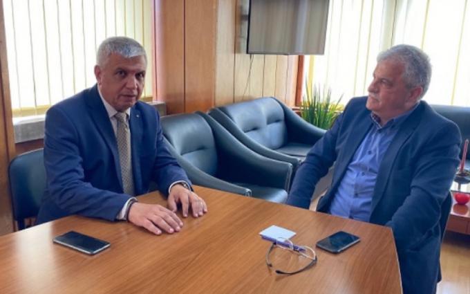 """Кметът Владимир Москов поиска отваряне на ГКПП """"Илинден"""" на среща с областния управител"""
