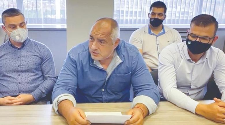 Борисов: Номинираният за премиер на ИТН трябваше да се казва Слави Трифонов