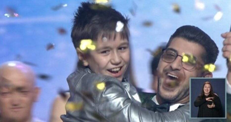 """10-годишният Калоян е победител в """"България търси талант"""""""
