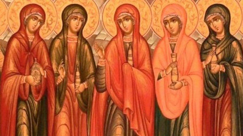 Кои са светите жени мироносци