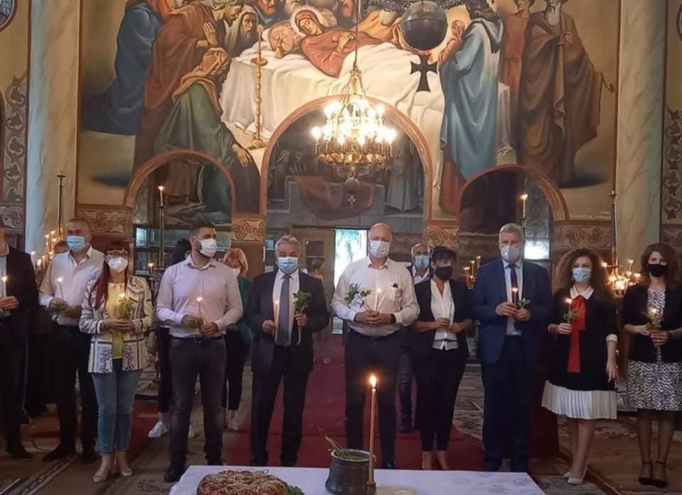 Стартираха кампанията на коалиция ГЕРБ-СДС за община Разлог с молебен за здраве и успехи