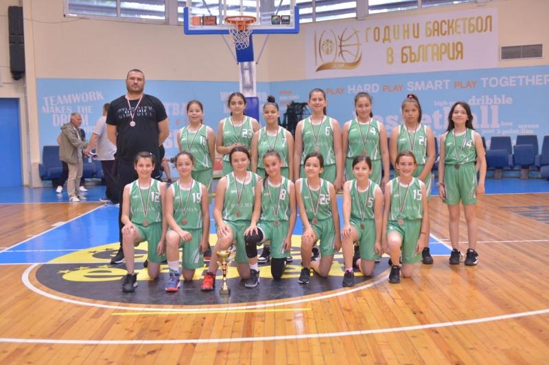 """Баскетболен клуб """"Пирин Гоце Делчев"""" извоюва първи медали за клуба"""