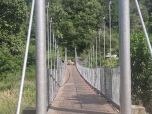 """Въженият мост в парк """"Бачиново"""" е реновиран"""