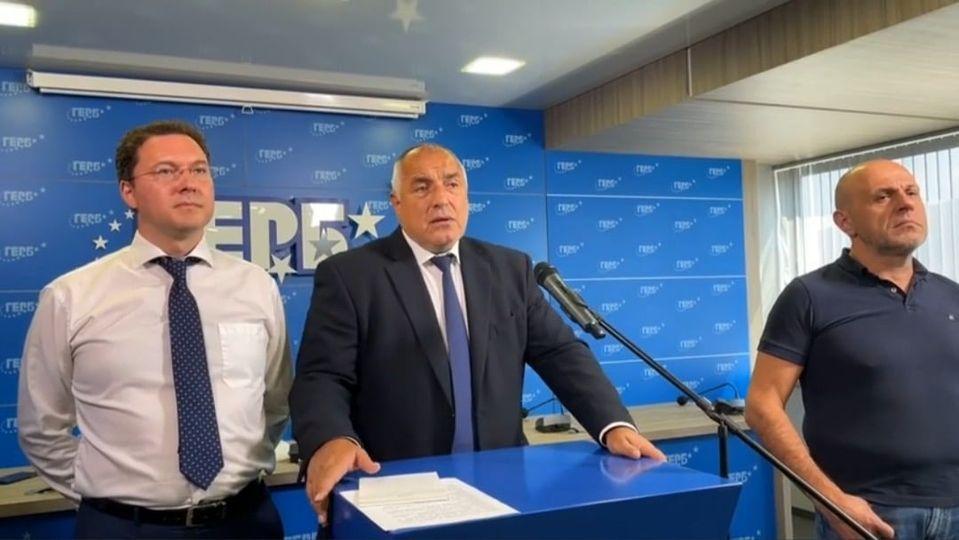 Бойко Борисов: Когато една партия я притискат всички по най-безобразен начин – тя става партията на народа