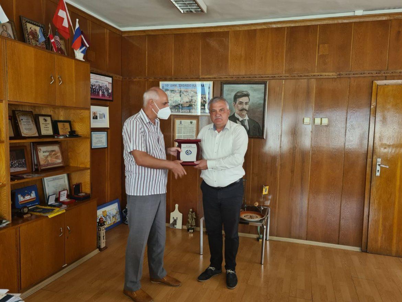 Кметът Владимир Москов с признание от Съюза на слепите