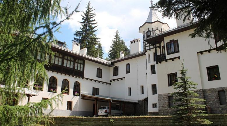 "Огромна мечка нахълта в двореца ""Царска Бистрица"" край Боровец"
