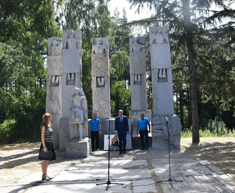 Разлог почете паметта на героите от илинденско-преображенското-кръстовденското въстание