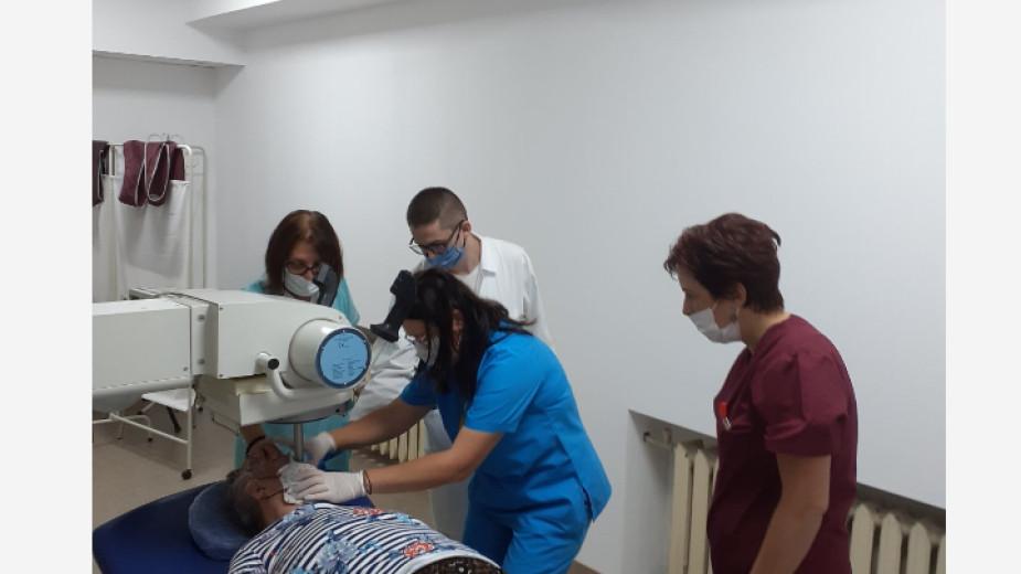 Онкологията в Благоевград с нов апарат за лечение на кожни карциноми и заболявания на опорно двигателния апарат