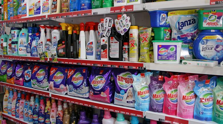 Магазини в Югозапада продават шампоани и перилни препарати менте