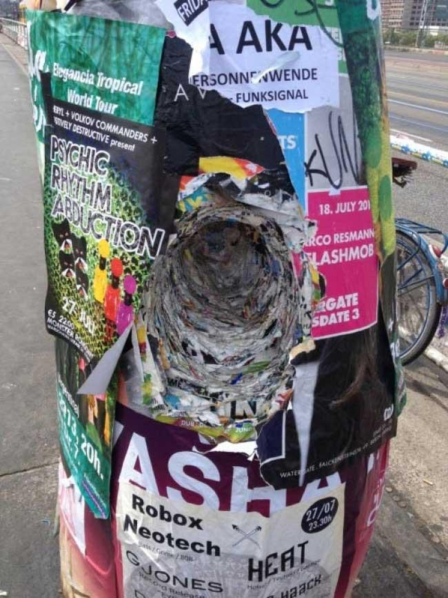 Съветниците настояват да се глобява за лепене на афиши