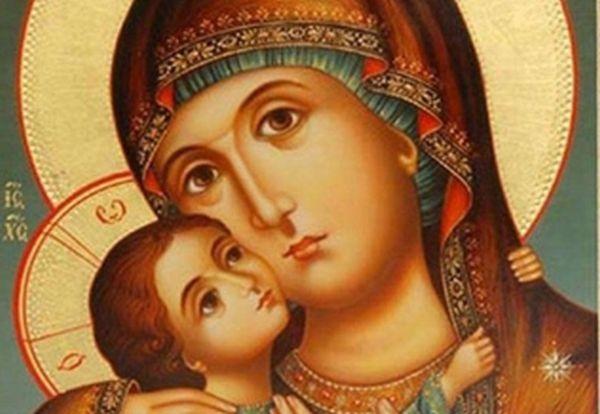 Денят 24 октомври е отреден на Пресвета Богородица