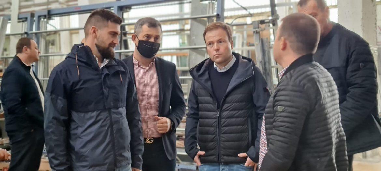 Hа посещение в Сандански е евродепутатът от Германия Свен Симон – представител в комисията по Международна търговия в Европейския парламент
