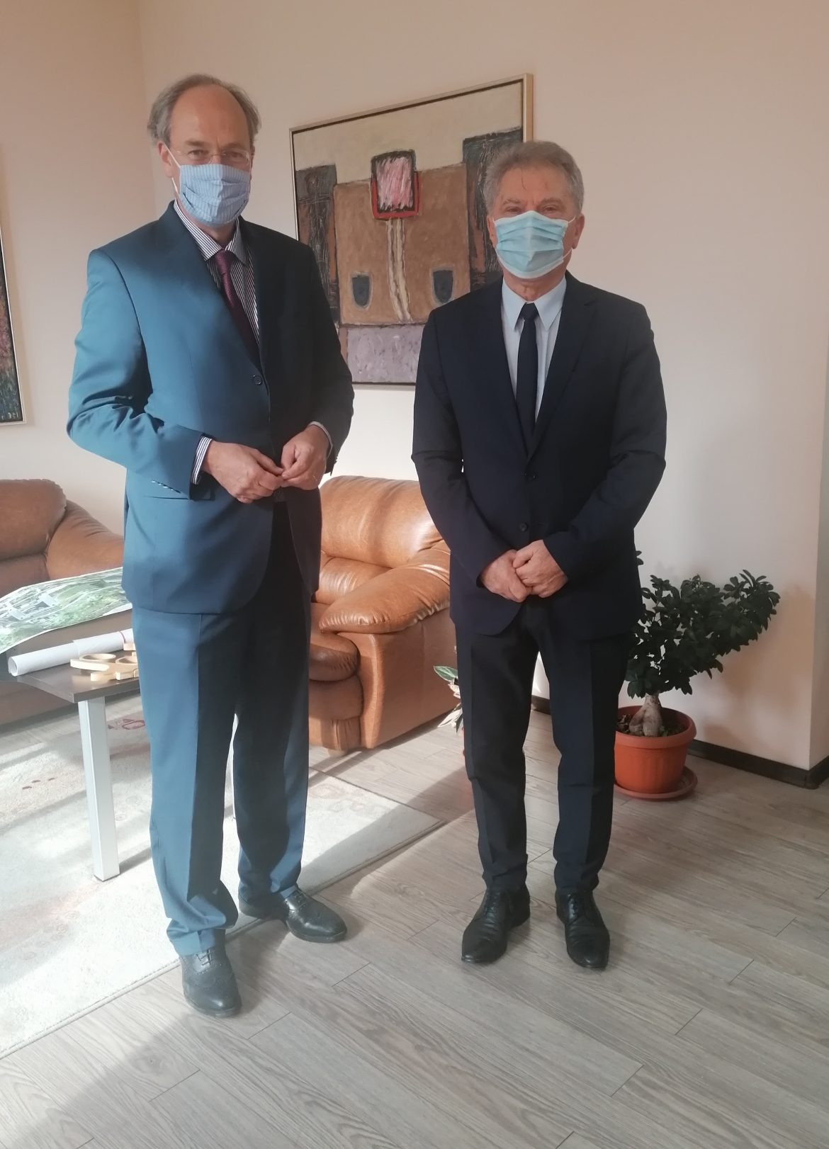"Посланикът на Германия посети Югозападния университет ""Неофит Рилски"""