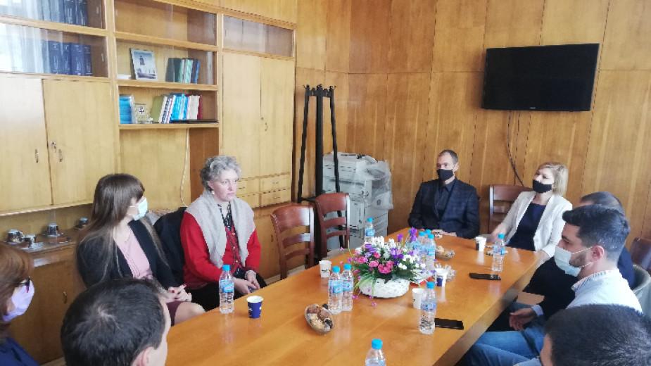 Прокурори от Румъния, Литва и Италия гостуваха в Окръжен съд – Кюстендил