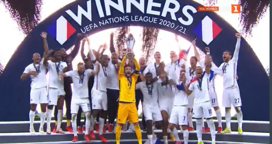 Франция спечели Лигата на нациите